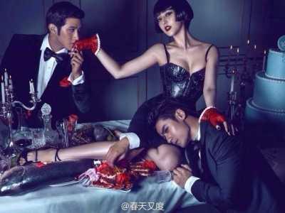 贾静雯男人装是哪一期 女星《男人装》写真大片