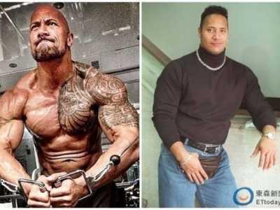 巨石强森以前很胖吗 巨石强森自爆肥胖旧照