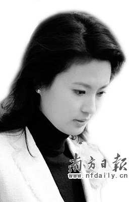 刘芳菲节目昨晚央视播出 黑衣出镜读情绪台词